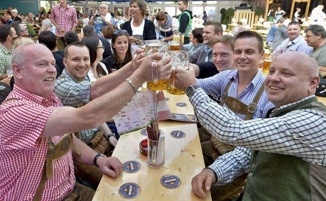 Auch in Brunn am Gebirge wird ein Oktoberfest gefeiert.