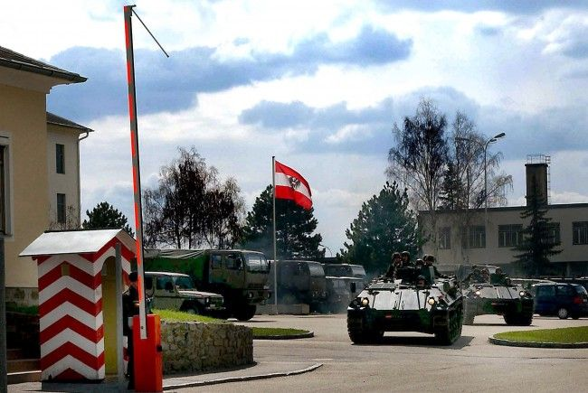 Die Horner Kaserne.