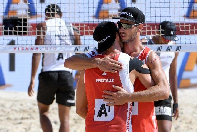 Ermacora/Pristauz haben es als Gruppen-Dritte geschafft, im Turnier zu bleiben.