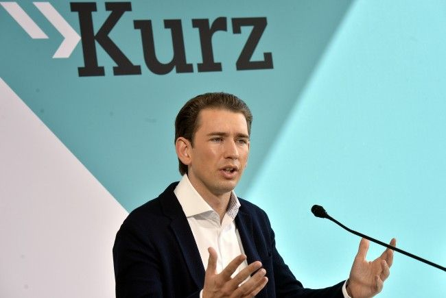 ÖVP-Chef Sebastian Kurz will Gewaltdelikte härter bestrafen.