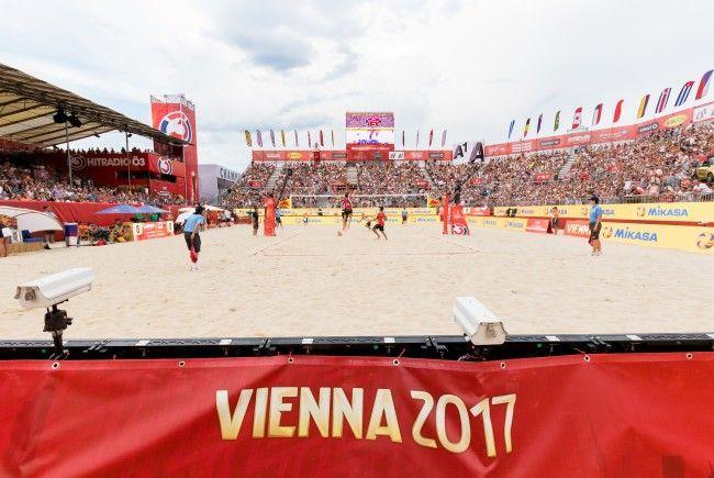 Die Beach-Volleyball-WM in Wien war ein voller Erfolg.