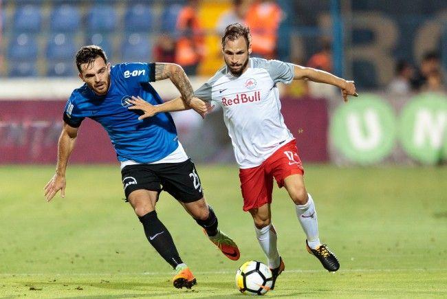 Red Bull Salzburg feierte bei Viitorul Constanța einen 3:1-Auswärtssieg.