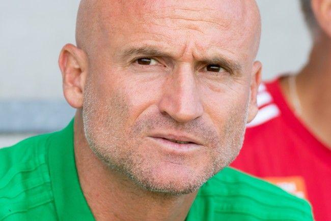Rapid-Trainer Goran Djuricin muss eine Geldstrafe berappen.