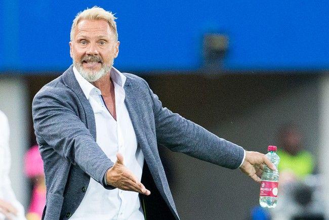 """Austria-Trainer Thorsten Fink darf sich über den nächsten Sieg seiner """"Veilchen"""" freuen."""