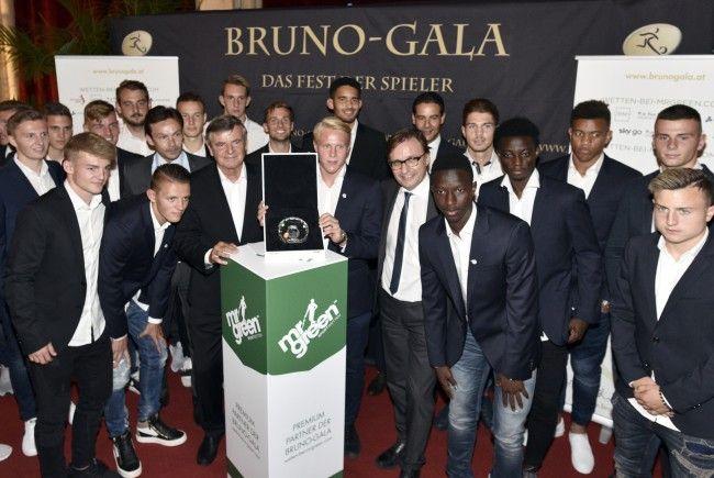 Bei der Bruno-Gala wurden die Auszeichnungen der vergangenen Fußball-Saison in Österreich vergeben.