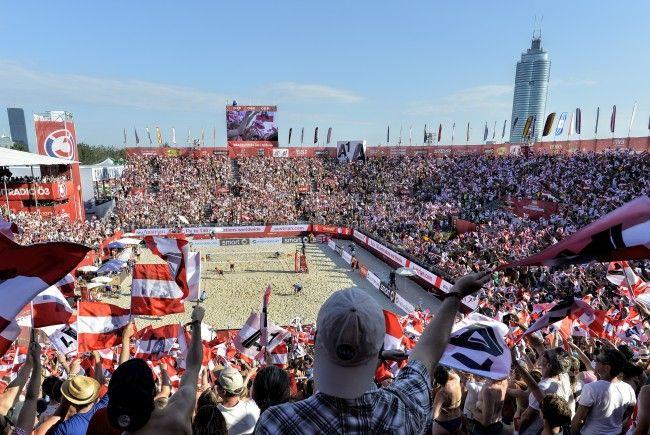 VIENNA.at berichtete umfangreich über die Beach Volleyball WM in Wien.