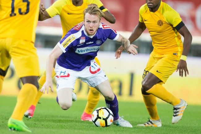 Die Wiener Austria steht im Match gegen AEL Limassol ordentlich unter Druck.