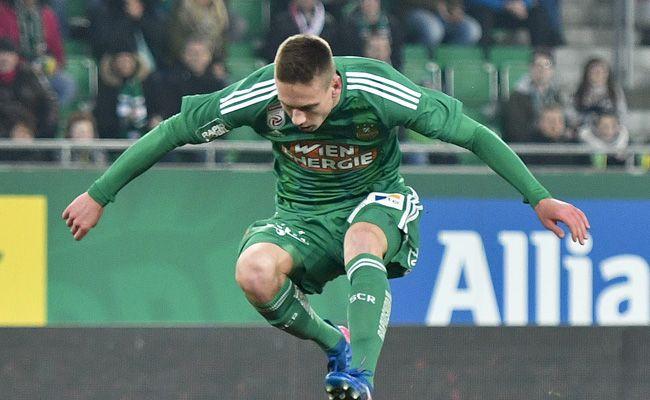 Alex Sobczyk wechselt von Rapid leihweise zu St. Pölten.