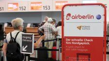 Air Berlin: Bücher seit Mai für Interessenten offen