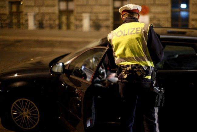 Die Polizei zog in Wieden einen Alko-Lenker aus dem Verkehr