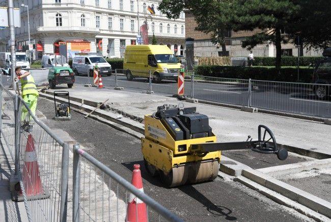 Im August starten Bauarbeiten im 10. und im 20. Wiener Bezirk.