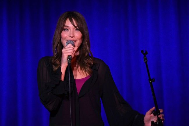 Sängerin Carla Bruni kommt am 4. Dezember ins Wiener Konzerthaus.