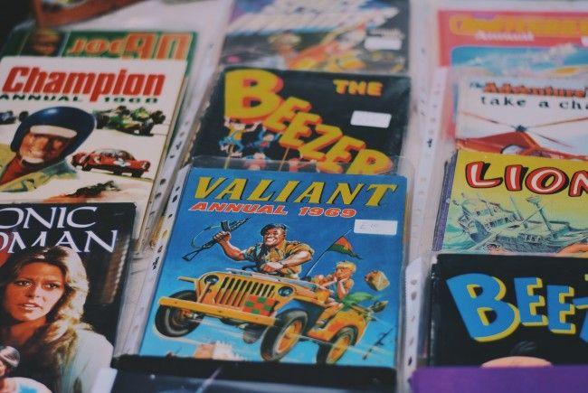 Anfang September findet am Donaukanal eine Comicbörse statt