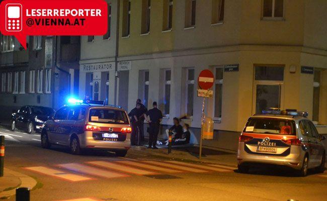 In der Nacht von Mittwoch auf Donnerstag verfolgte die Polizei Graffiti-Sprayer in Wien Maragreten.