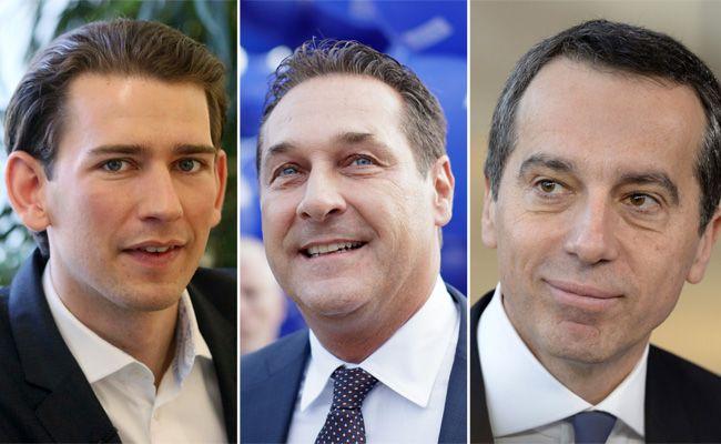 Die Spitzenkandidaten der NR-Wahl 2017 im Porträt