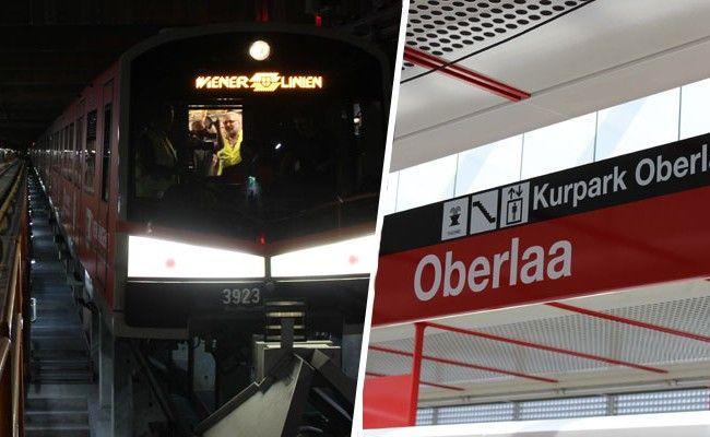 Mit der U1 kann man ab 2. September bis nach Oberlaa fahren.