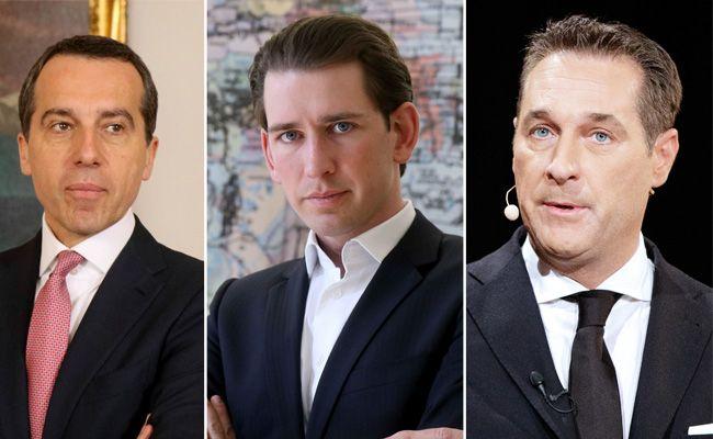 VIENNA.at fragt nach: Wen würden Sie derzeit zum Kanzler wählen?