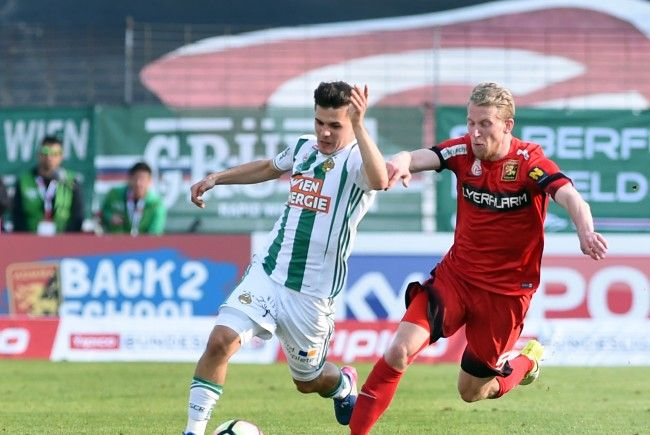 Rapid Wien trifft Sonntagnachmittag auswärts auf die Admira.