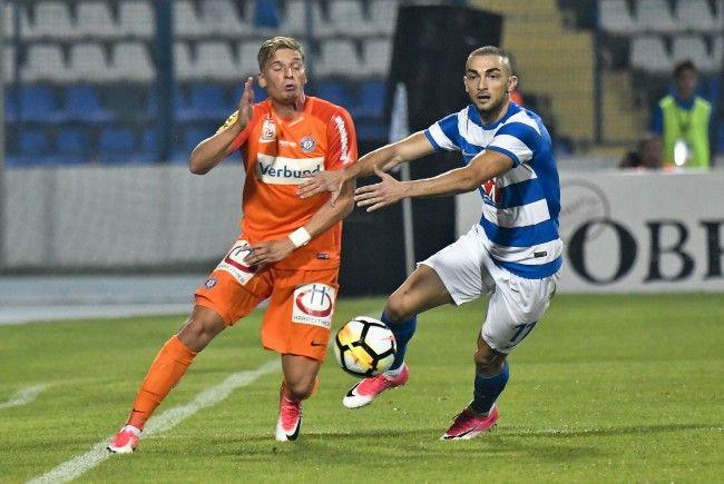 Austria Wien trifft im Rückspiel des Europa-League-Playoffs auf NK Osijek aus Kroatien.