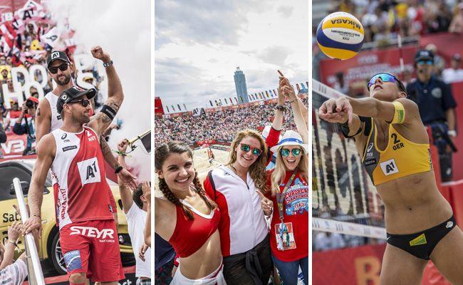 Eineinhalb Wochen Action und Party auf der Donauinsel - das war die Beach-Volleyball-WM 2017 in Wien.
