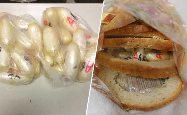 Das Kokain war in ausgehöhltem Toastbrot eingearbeitet.