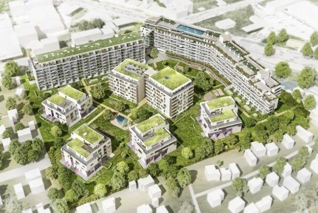 Das Bauprojekt in Wien-Meidling ist fertiggestellt.