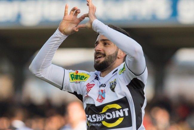 Der Brasilianer Galvao wechselt von Altach zu Rapid Wien.