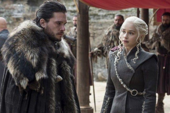 Jon Snow und Daenerys Targaryen.
