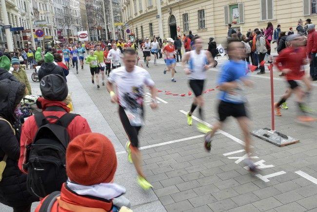 Im Herbst finden in Wien zahlreiche Laufbewerbe statt.