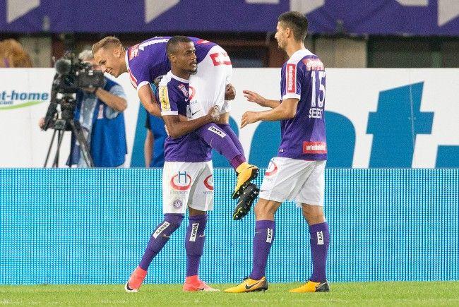 Die Wiener Austria gastiert im Playoff-Hinspiel zur Europa League bei Osijek in Kroatien.