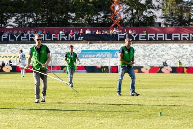 Rapid Wien muss nach der Spielunterbrechung gegen die Admira erneut Strafe zahlen.