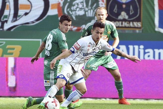 LIVE-Ticker zum Spiel SK Rapid Wien gegen SK Sturm Graz ab 16.00 Uhr.