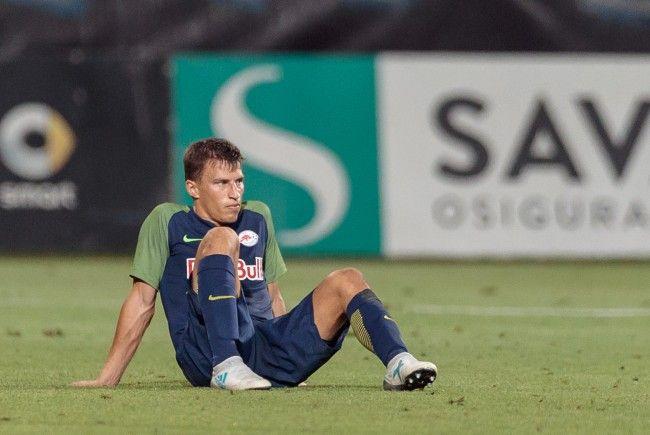 Red Bull Salzburg scheitert an Rijeka in der Champions League.
