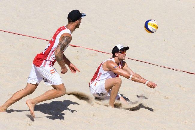 Seidl/Winter stehen im Play Off der Beach WM.