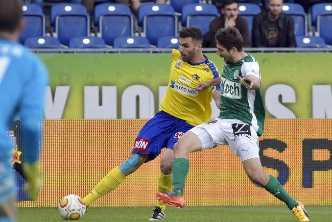 LIVE-Ticker zum Spiel SKN St. Pölten gegen SV Mattersburg ab 18.30 Uhr.