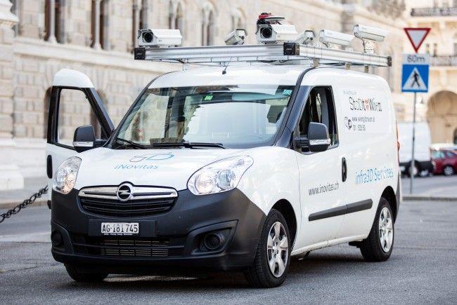 Die Stadt Wien schickt ihre eigenen Kamera-Autos los.