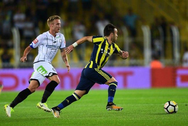 Fenerbahce schmiss SK Sturm Graz aus der Europa League.
