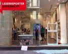 Scheibe bei Swarovski auf der Wiener Kärntner Straße zersprungen