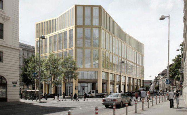 Der Glaspalast in der Wiener Innenstadt wird abgerissen.