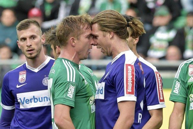 Sollten die ÖFB-Damen den Finaleinzug der EM schaffen, wird das Wiener Derby erst um 20.15 Uhr angepfiffen.