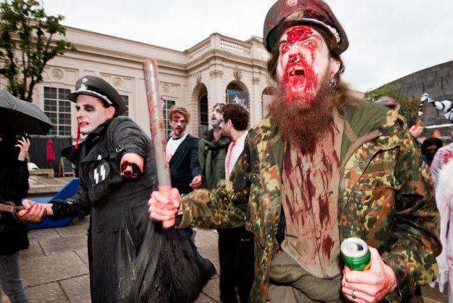 Im MQ Wien sind wieder die Zombies los