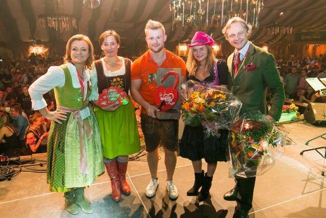 """Der 6. """"Penny Musik Award"""" wurde auf der Wiener Wiesn vergeben."""