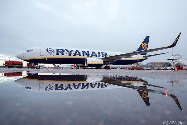 Ryanair lässt bis Ende Oktober bis zu 2.100 Flüge ausfallen