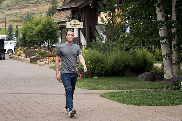 Marc Zuckerberg braucht sich keine Sorgen machen