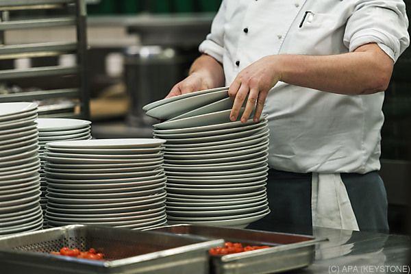 Hohe Wachstumsraten gab es in der Gastronomie