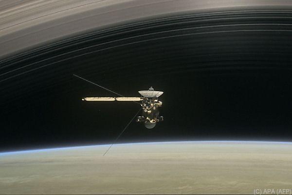 Das war es für Cassini - nach 20 Jahren Dienstzeit