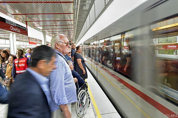 In Wien fahren 67 Prozent der Bevölkerung mit Öffis