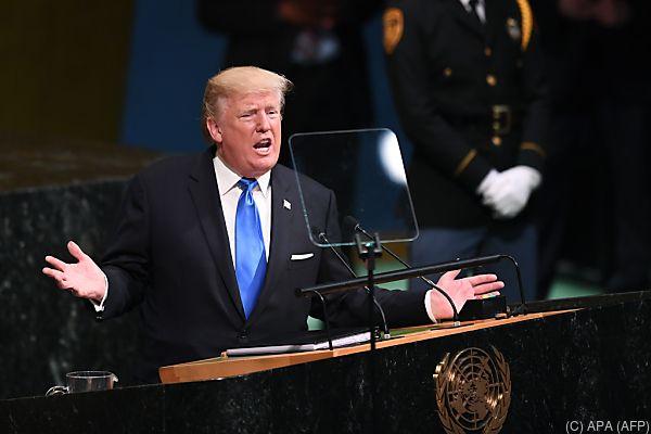 US-Präsident Trump droht Nordkorea