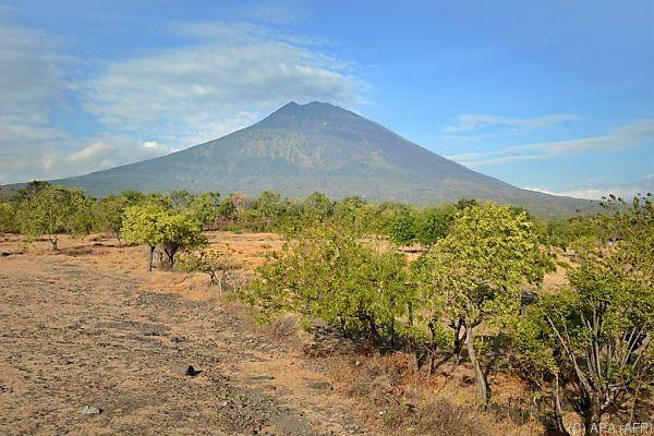 Mount Agung brodelt