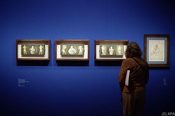 Die Ausstellung glänzt mit Madonnen und Knabenporträts